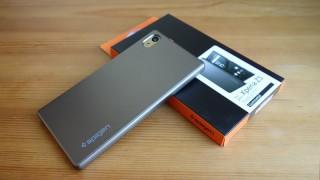薄いけどしっかり守ってくれて安心できるSpigenのXperia Z5用ケース「シン・フィット」レビュー