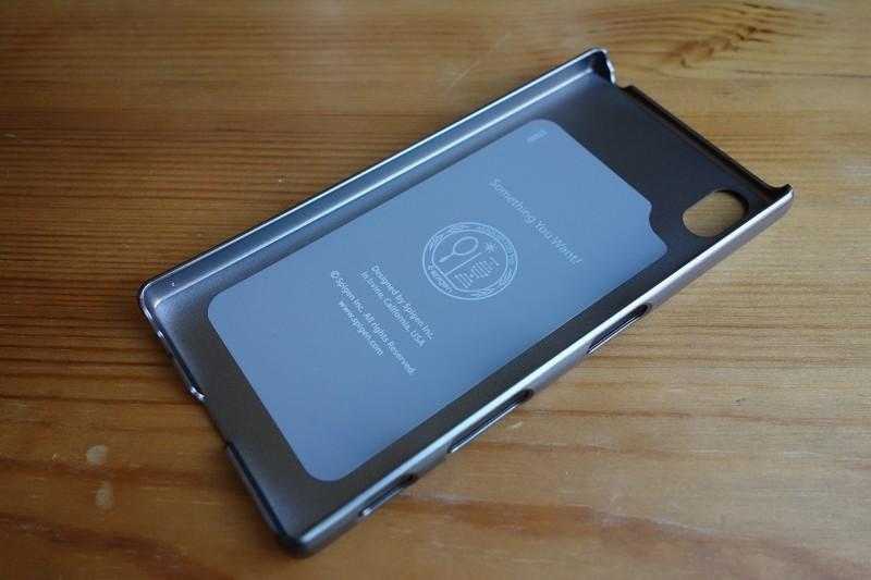 SPIGEN thin fit Xperia Z5_03