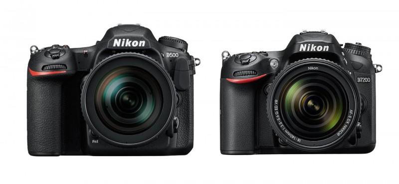 Nikon D500 D7200