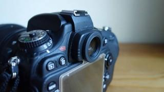 Nikon D600のファインダーを丸窓化!「NEPS1」と「DK-17」で簡単にできてオススメ
