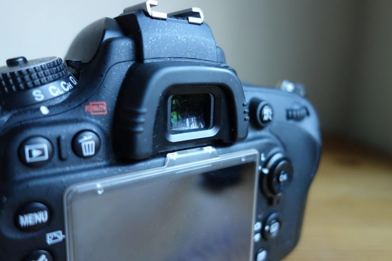 Nikon D600 角窓ファインダー