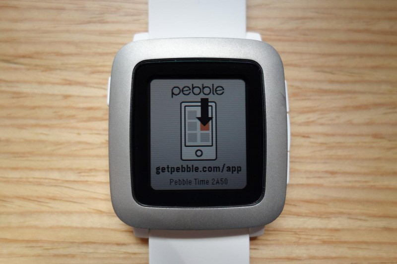 Pebble Time setup_01