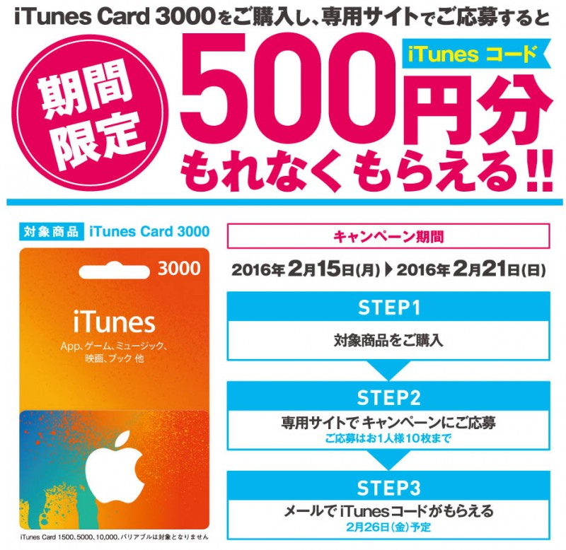 itunes card campaign