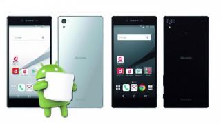 ドコモがXperia Z5/Z5 Compact/Z5 PremiumにAndroid 6.0 Marshmallowを提供開始!