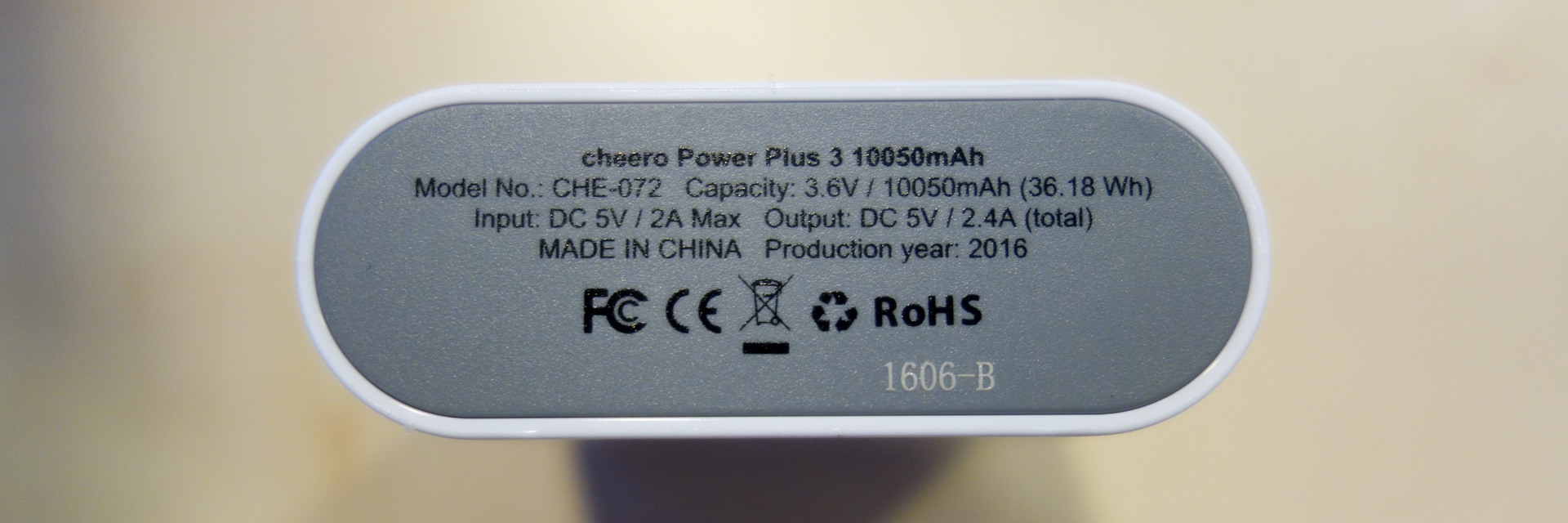 cheero Power Plus 3 10050mAh_5