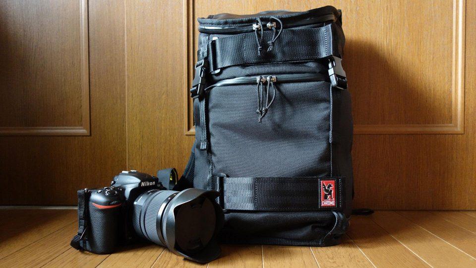 CHROMEのカメラバッグ「NIKO PACK」をレビュー 普段の荷物+一眼レフ2台が余裕で見た目もかっこいい