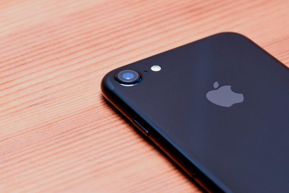 iPhone 7 ジェットブラック 外観 フォトレビュー_5