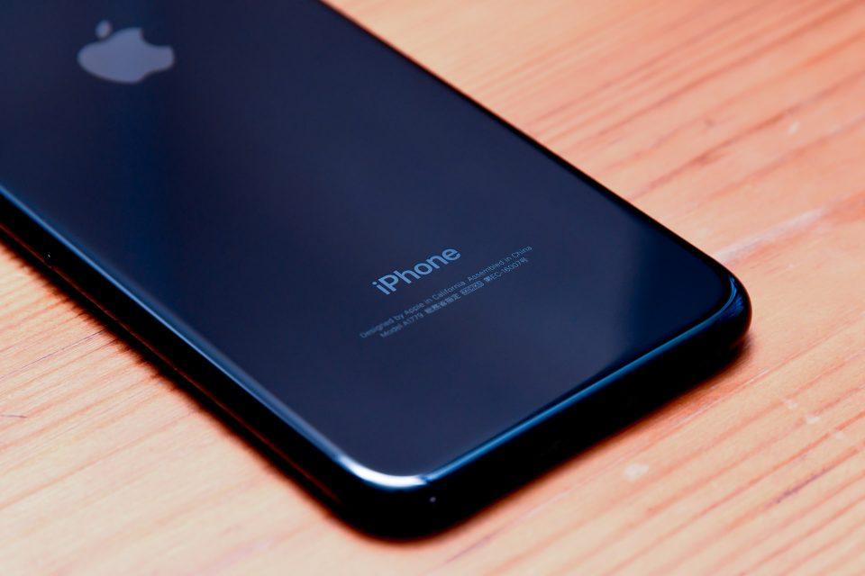 iPhone 7 ジェットブラック 外観 フォトレビュー_6
