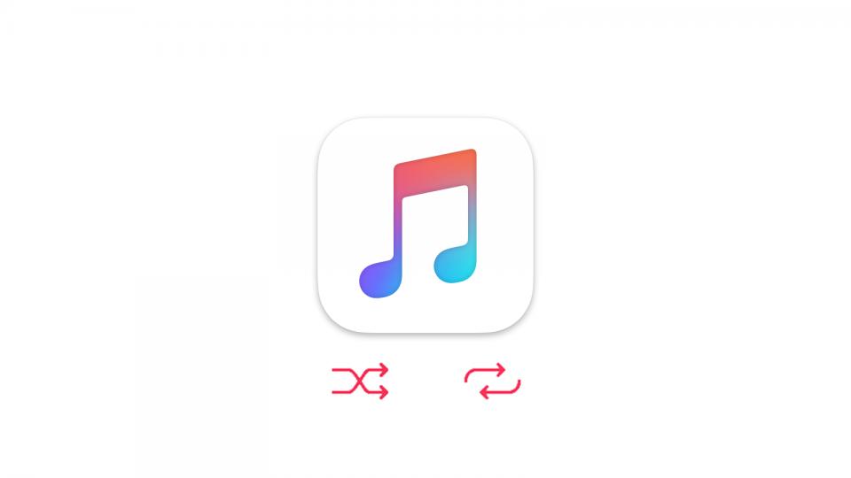 iOS 10のミュージックアプリでリピート・シャッフルする方法