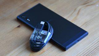 Xperia XZ、グローバル版では同梱されたUSB Type-Cケーブルは国内版では同梱されず