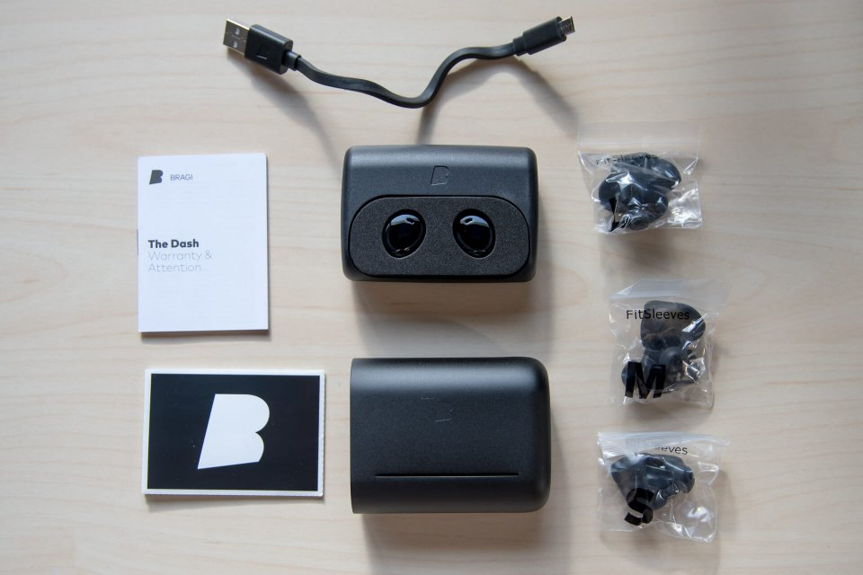 ワイヤレス Bluetooth イヤホン Bragi THE DASH