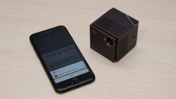 超小型プロジェクター「Smart Beam Laser」レビュー コンパクトなのに明るく大画面に投写できてよいぞ