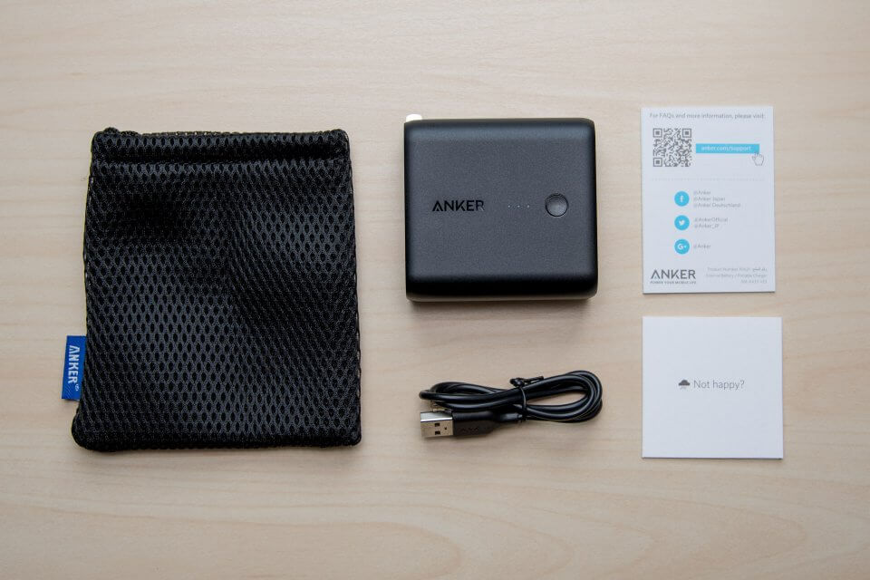 Anker PowerCore Fusion モバイルバッテリー 充電器 レビュー