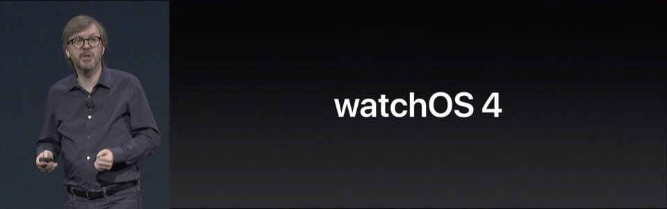 Apple WWDC 2017 watchOS 4