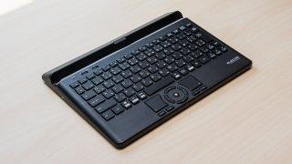 エレコムのトラックボール搭載Bluetoothキーボード『TK-DCP03BK』が変態っぽくていい