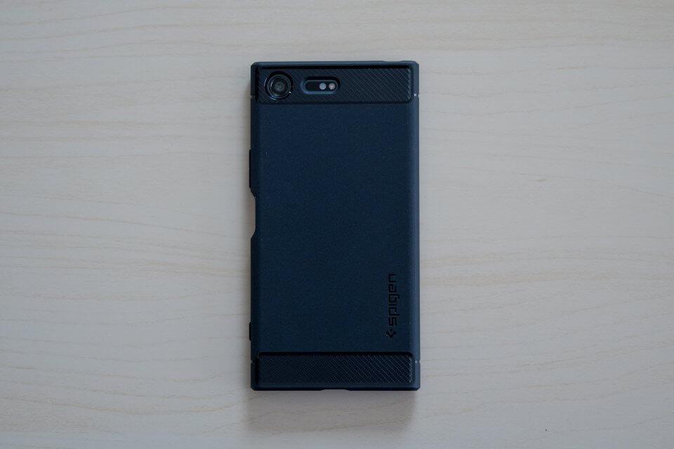 Spigen ラギッド・アーマー Xperia XZ Premium ケース