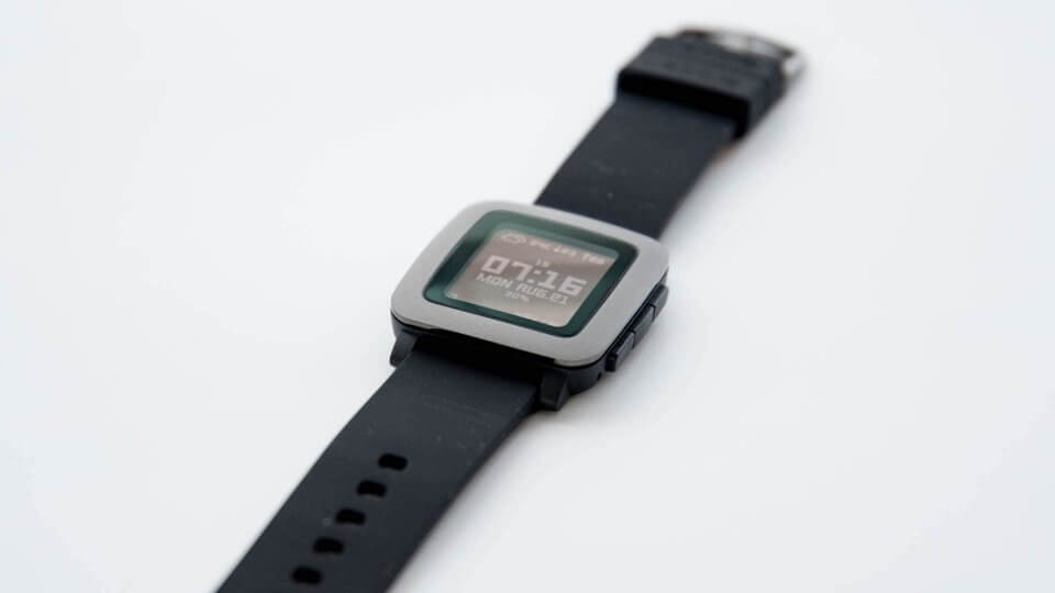 Pebble Time レビュ