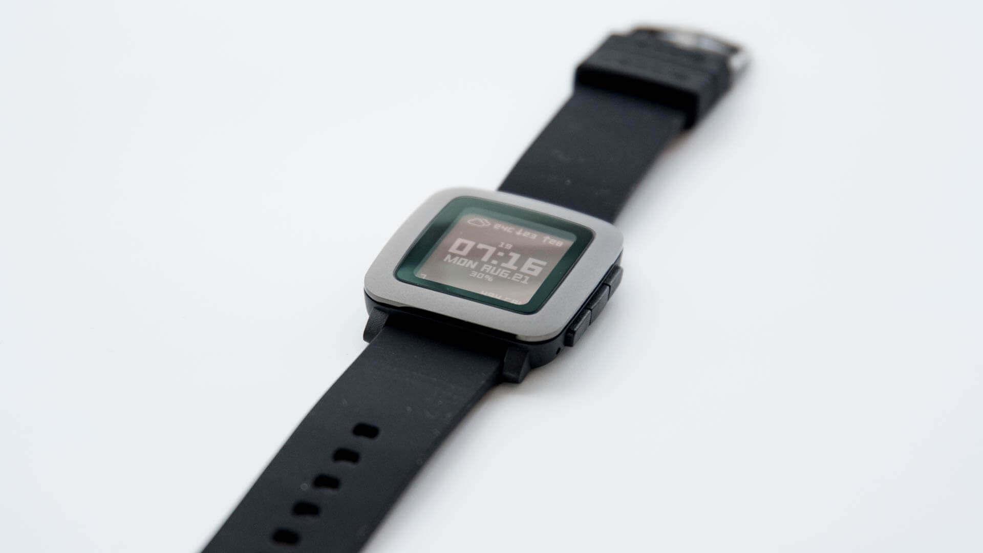 スマートウォッチ『Pebble Time』を新調しました。やっぱりPebbleが好き