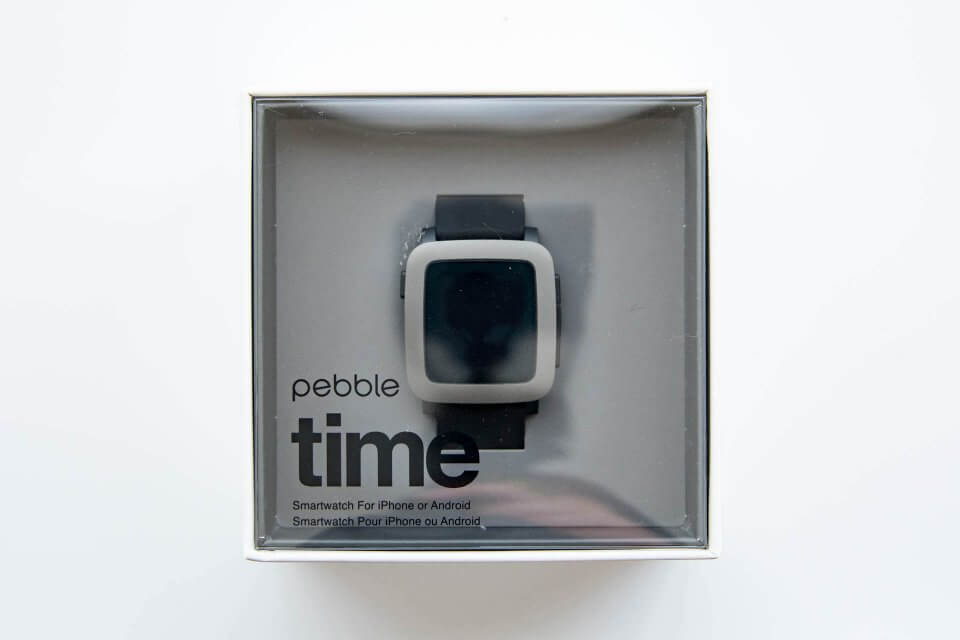Pebble Time 化粧箱