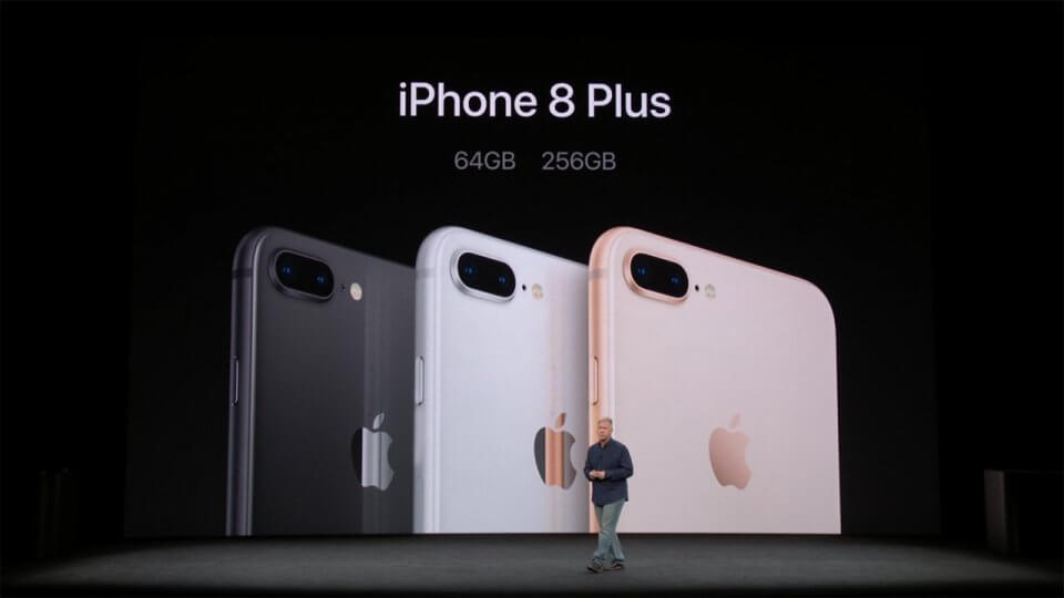 iPhone 8 and iPhone 8 Plus