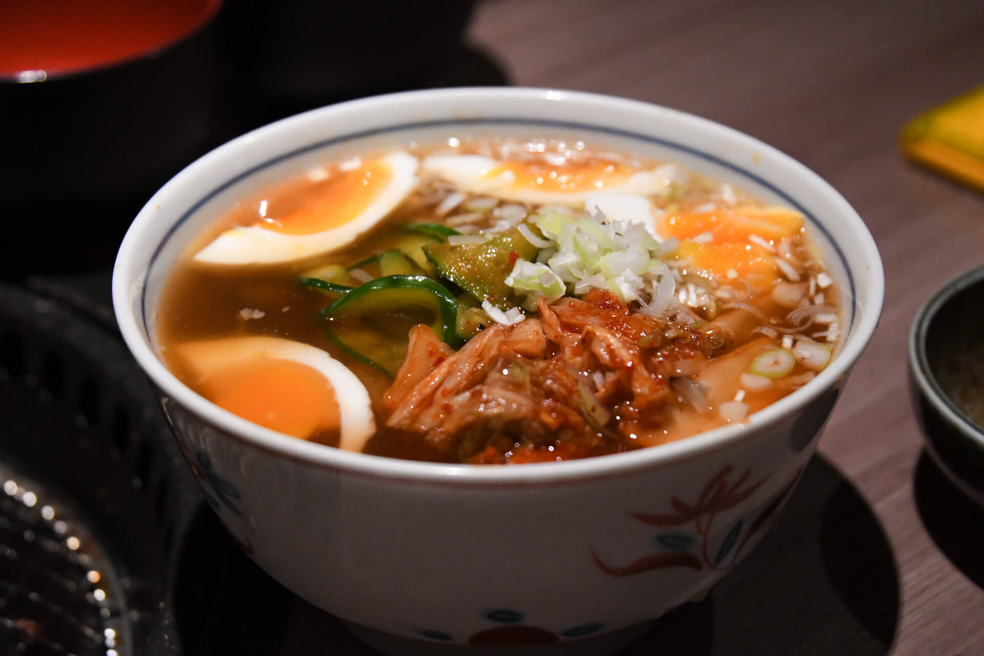 肉と日本酒 千駄木 冷麺