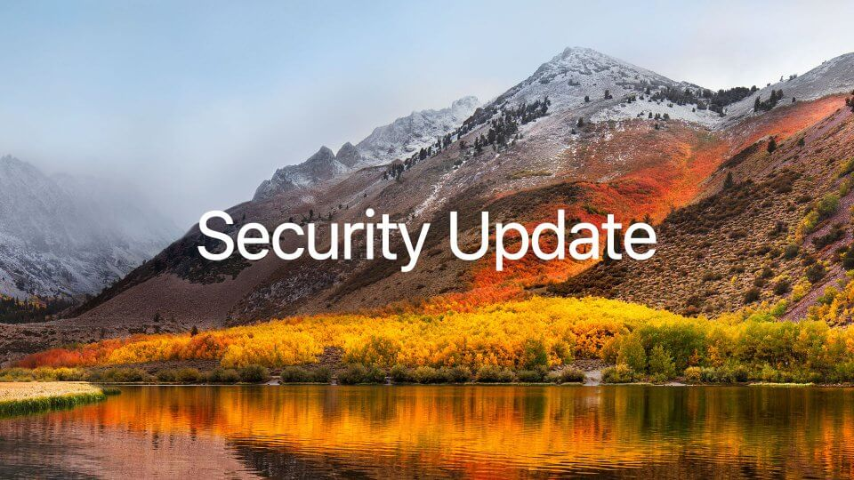 macOS High Sierra セキュリティアップデート