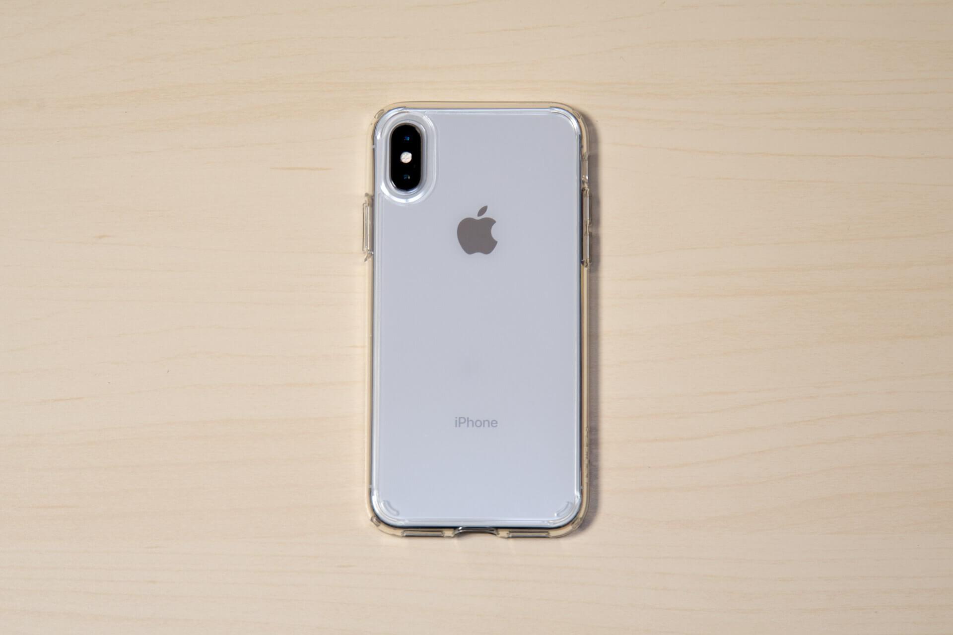 Spigen iPhone X ケース ウルトラ・ハイブリッド 4