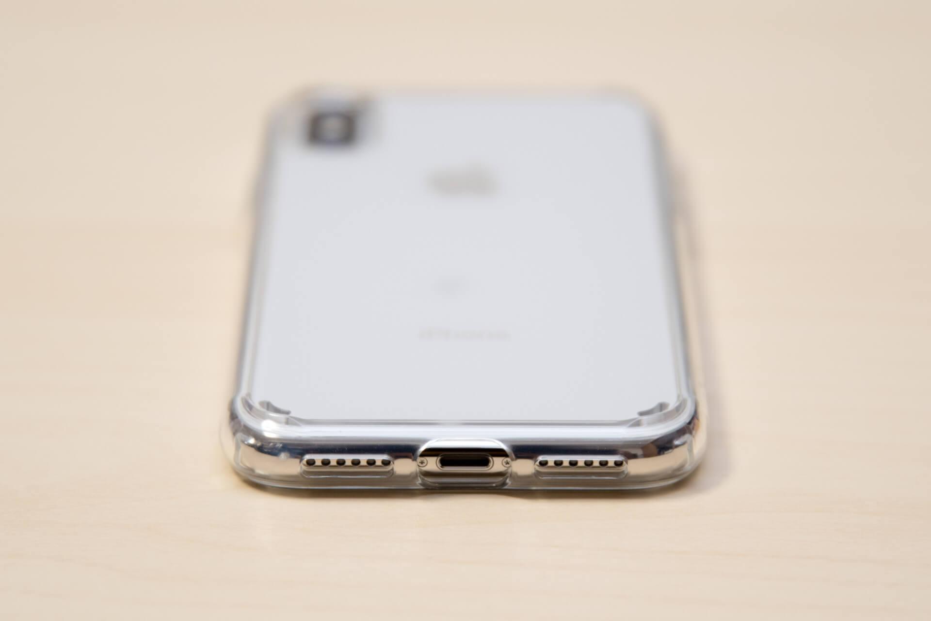 Spigen iPhone X ケース ウルトラ・ハイブリッド 8