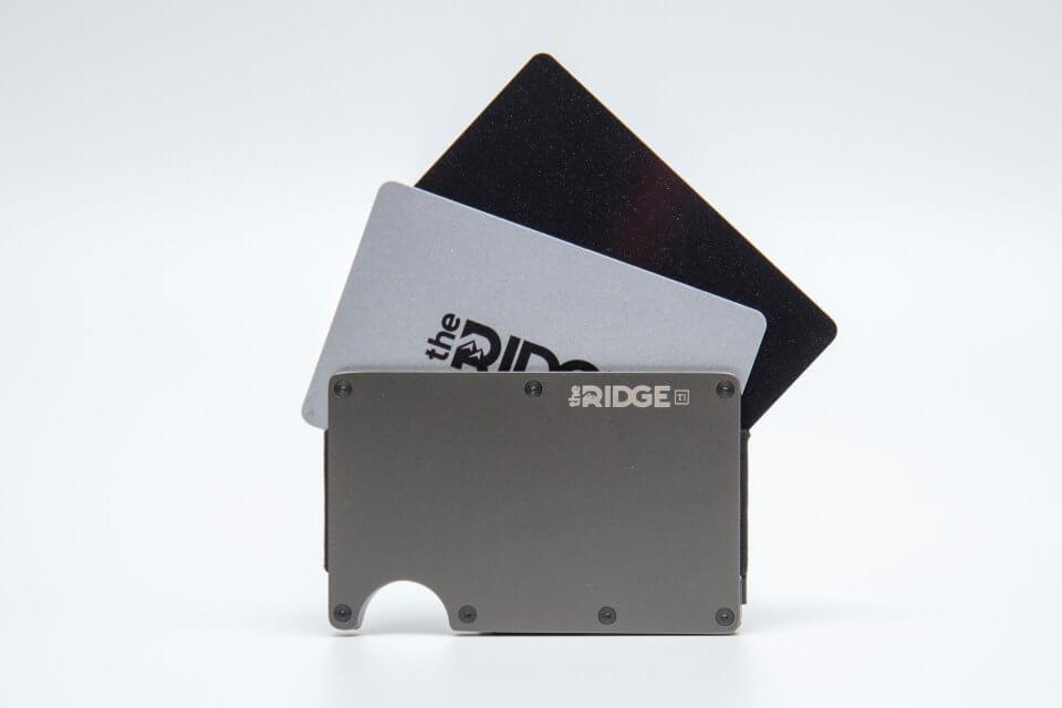 the RIDGE (ザ リッジ) スキミング防止のカード