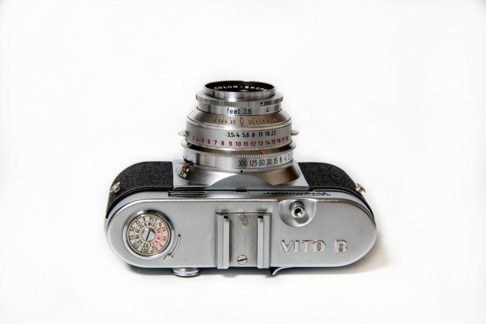 Voigtlander vito Bのレンズはカラースコパー 50mm/F3.5