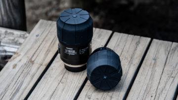 防水防塵で衝撃からもレンズを守ってくれるレンズカバー「UNIVERSAL LENS CAP」が心強すぎる