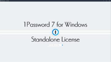 1Password 7 for Windowsのスタンドアロンライセンスを購入する方法