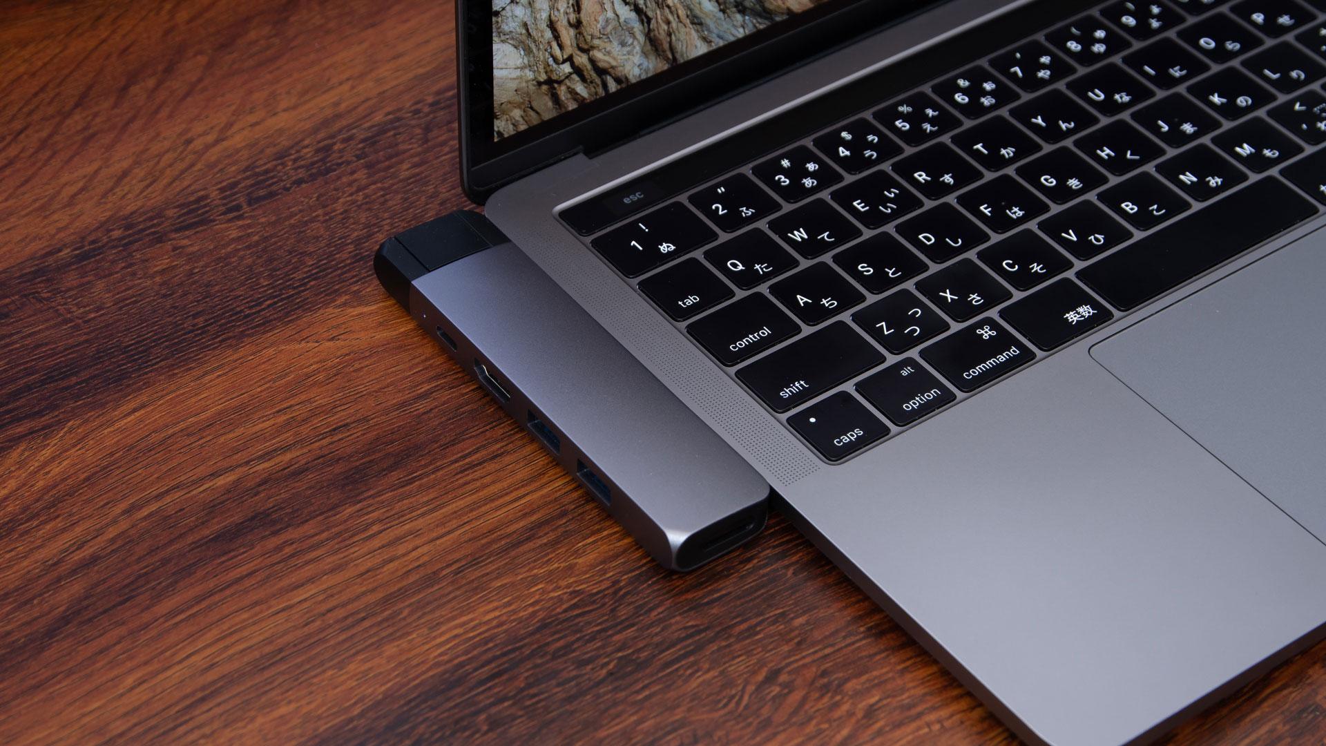有線LANが使えるSatechiのMacBook Pro用のUSB Type-Cハブが便利