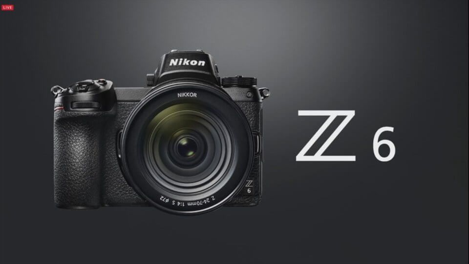 Nikon Z6発表!画素数と価格を抑えたフルサイズミラーレス、価格は27万円で11月下旬発売