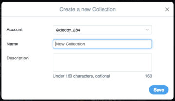 TweetDeck Collectionに名前をつける