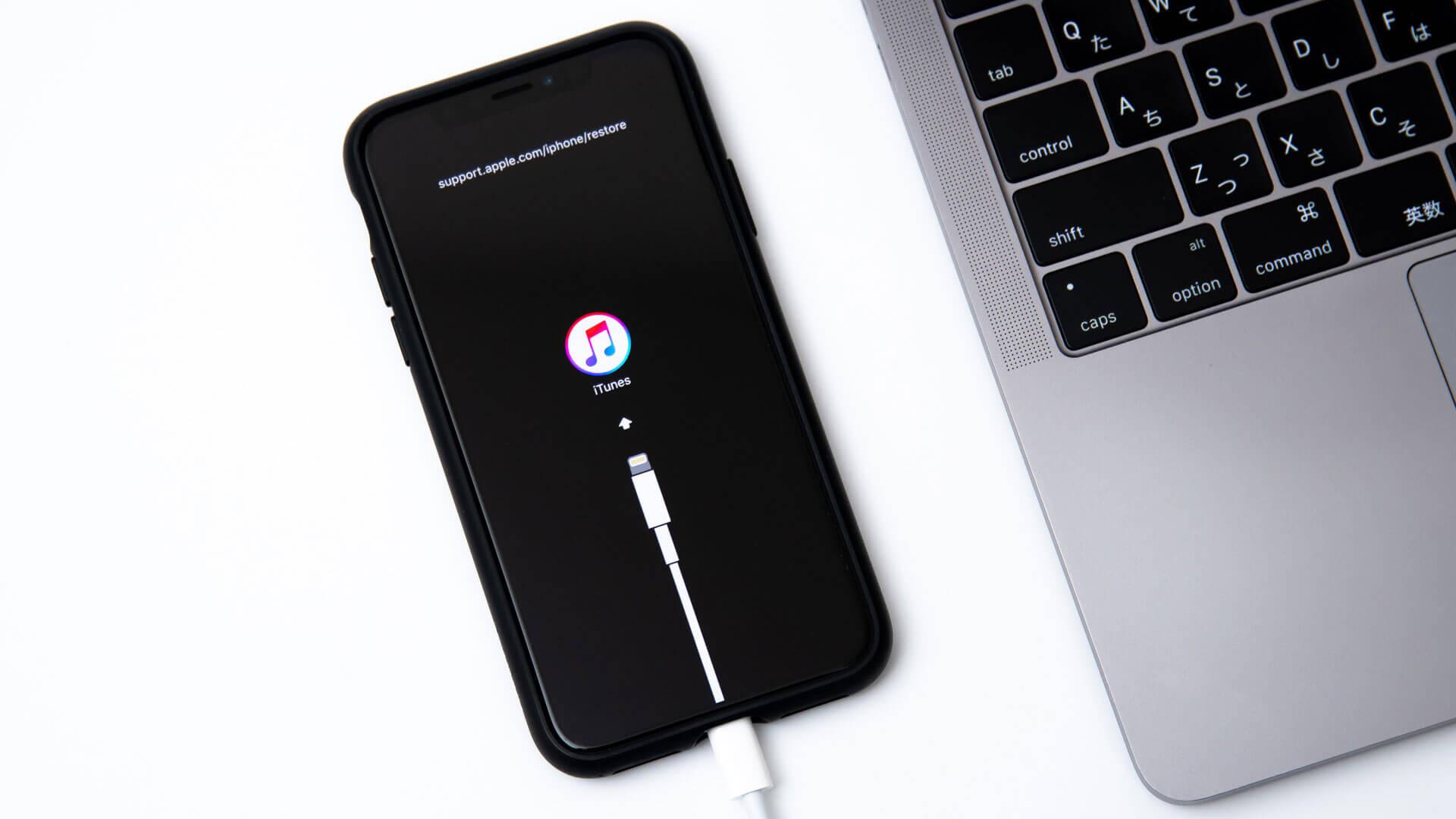 iPhone XS / XR / X / 8でリカバリーモード・DFUモードに入る方法