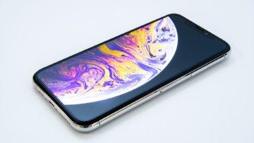 iPhone XS用に買ったフルカバーのガラスフィルムがいい感じ