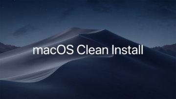 USBメモリなどの外部メディアに作成したインストールディスクを使ってmacOSをクリーンインストールする方法