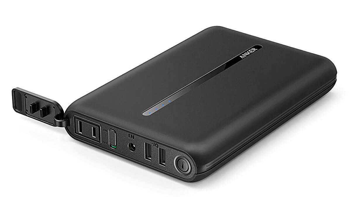 Anker、AC出力搭載でPCも充電できるモバイルバッテリー「Anker PowerCore AC」を2,000台限定で発売