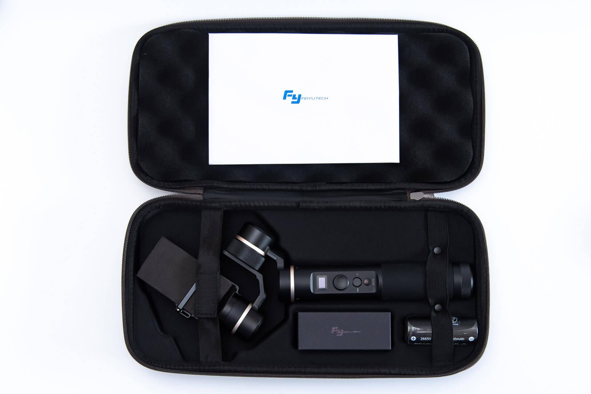 Feiyu Tech G6 同梱物