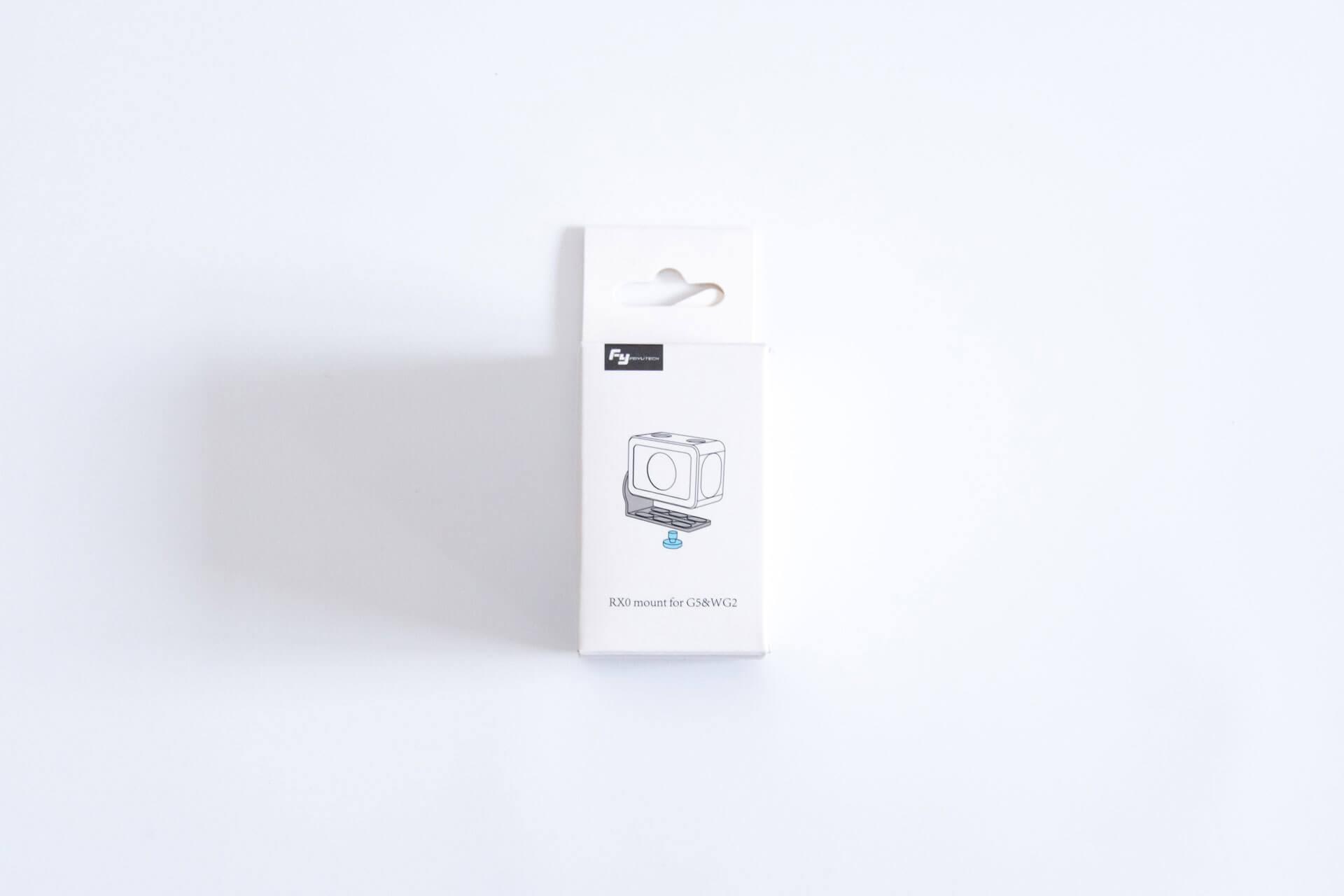 Feiyu Tech G6 RX0 マウント
