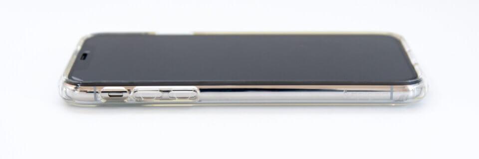 iPhone XS リキッド・クリスタル サイド