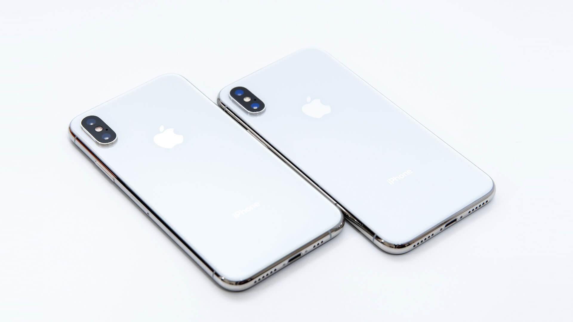 iPhone XSとiPhone Xの外観・スペック・カメラ性能を比較してみた