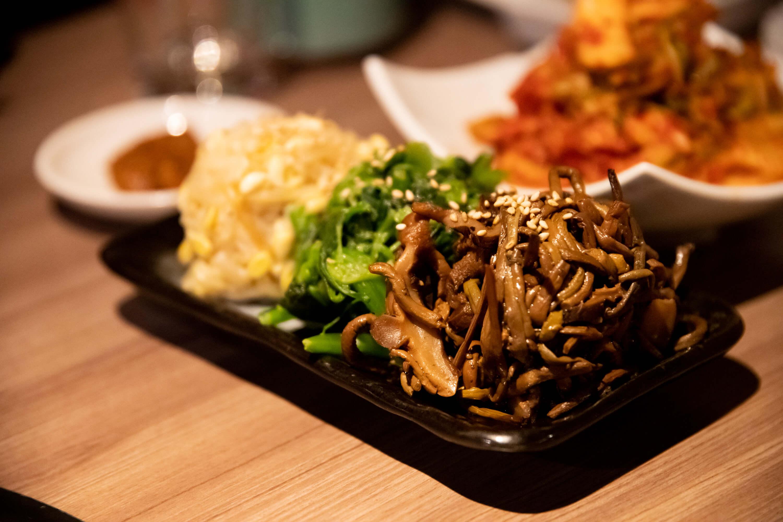 肉と日本酒 ナムル