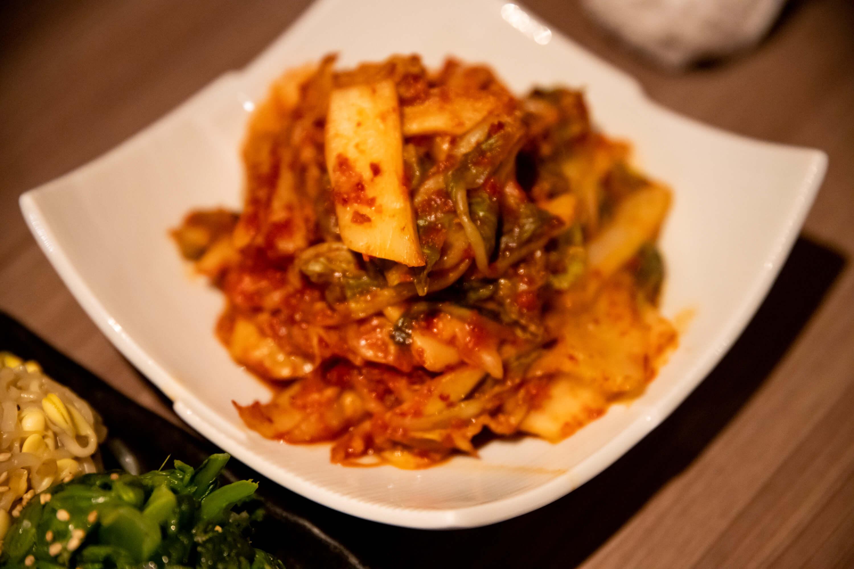 肉と日本酒 キムチ