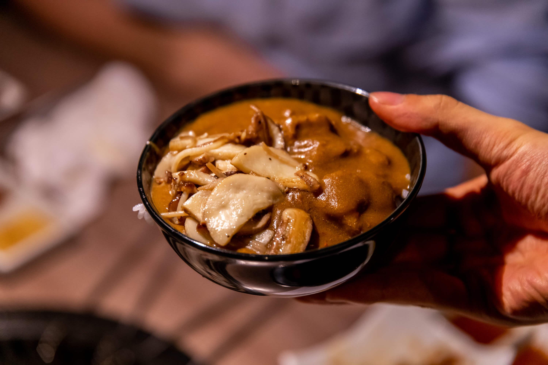 肉と日本酒 カレー