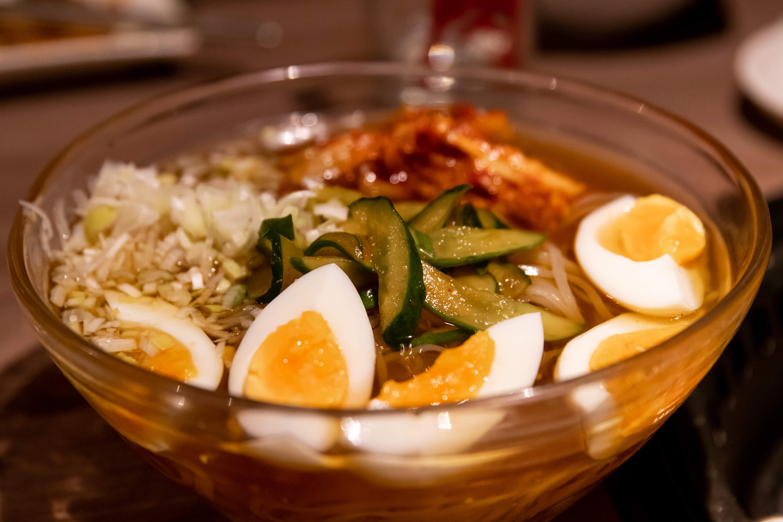 肉と日本酒 冷麺
