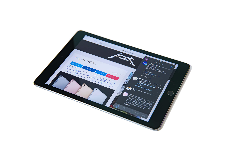 9.7インチ iPad Pro Wi-Fi Slide Over