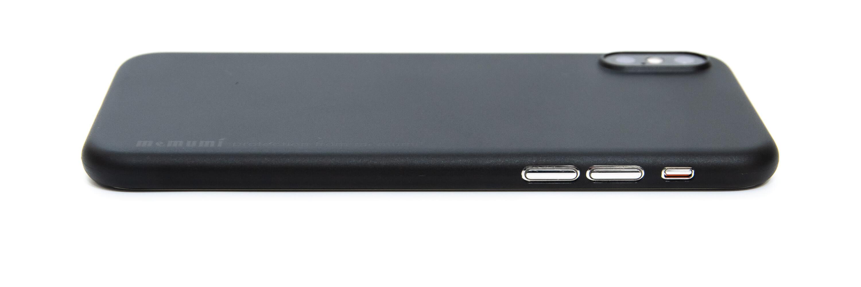 memumi 超薄型 iPhone XS ケース レビュー サイド