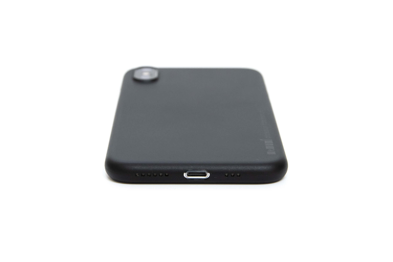 memumi 超薄型 iPhone XS ケース レビュー 下部